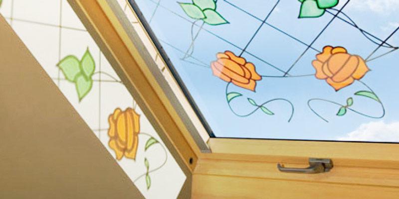Декоративные стеклопакеты